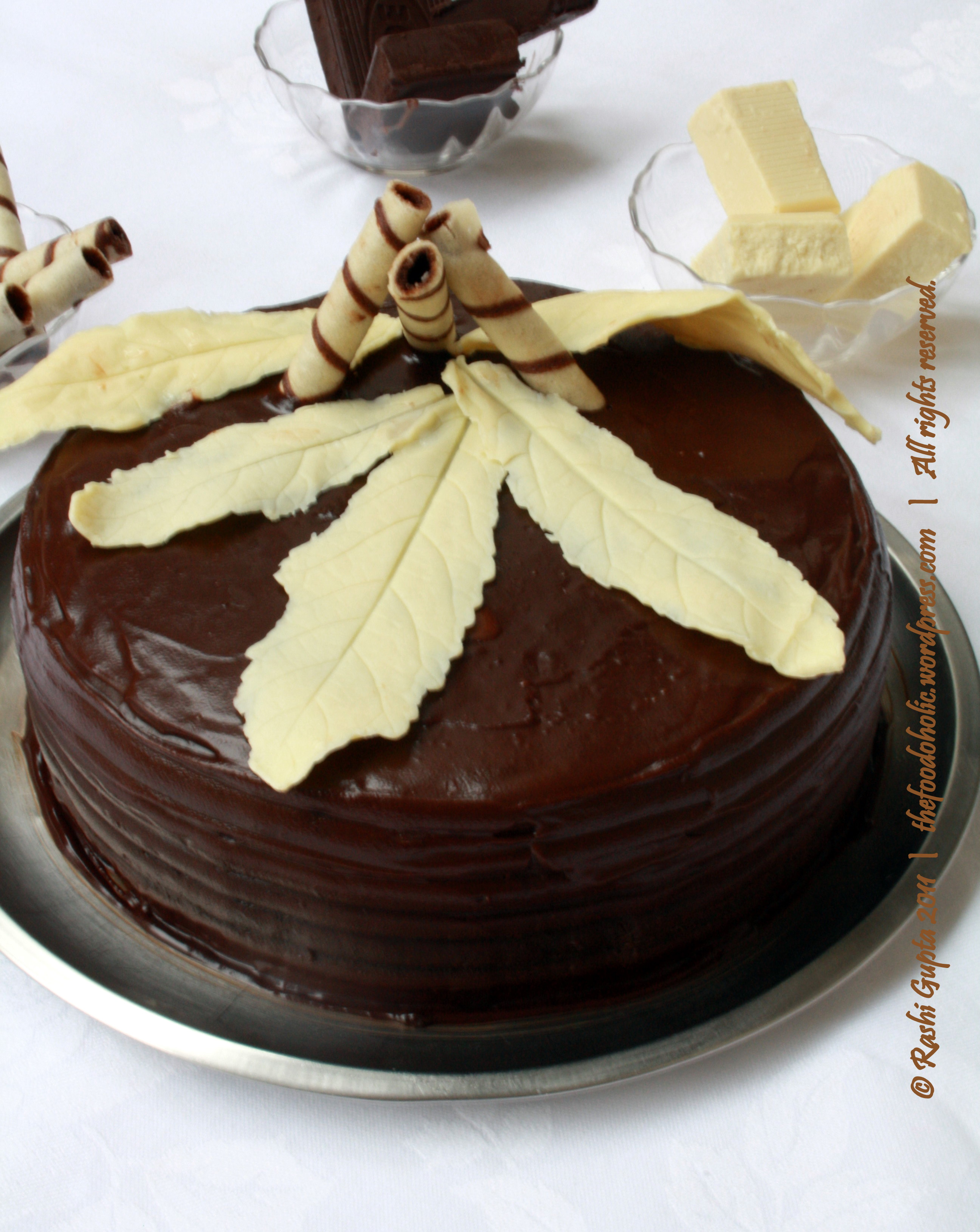 Making chocolate truffle cake | The gastronomic adventures of an ...